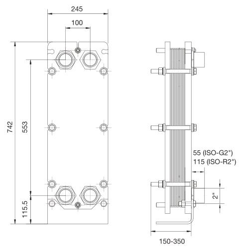 Теплообменник пластинчатый разборный т5 mf теплообменник apv прайс