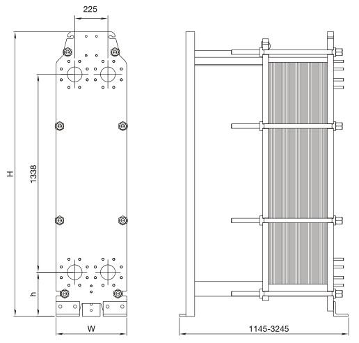Пластинчатые теплообменники для электродных котлов сборочный чертеж пластинчаого теплообменника