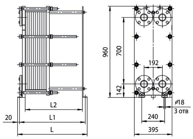 Теплообменник нн 22 количество параметры теплообменника труба в трубе