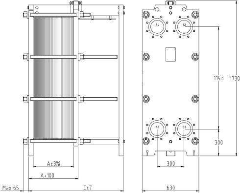 Теплообменник тпр 14-37 пластинчатый разборный цена теплообменник трантер купить
