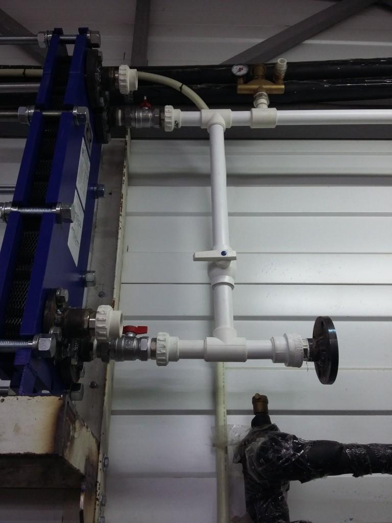 Подбор теплообменника для присоединения к системе фанкойлов
