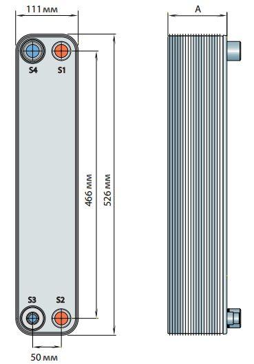 Паяный теплообменник Alfa Laval CBH10 Оренбург Пластины теплообменника КС 14,6 Стерлитамак