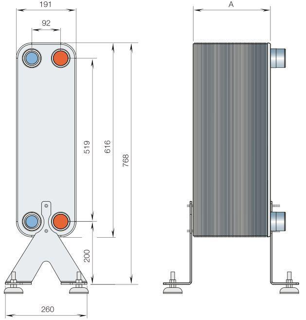 Паяный теплообменник Alfa Laval CB112-30L Чита Кожухотрубный испаритель ONDA SSE 27.101.2000 Сарапул