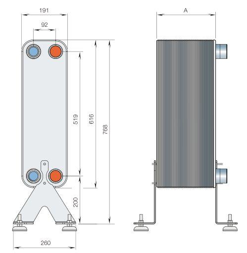 Паяный теплообменник охладитель GEA FPA 10x20-70 Обнинск