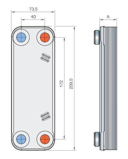 Паяный теплообменник Alfa Laval CB110-30H Кемерово Пластинчатый теплообменник HISAKA SX-95L Новый Уренгой