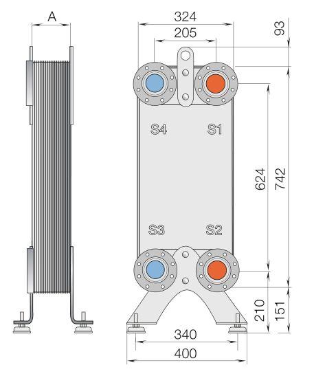 Паяный теплообменник Alfa Laval CB112-38M Саранск Уплотнения теплообменника Danfoss XGC-X060L Набережные Челны