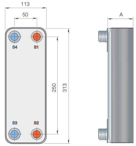 Пластинчатый теплообменник Alfa Laval AQ4L-FG Хасавюрт