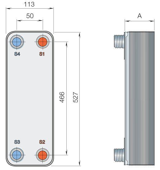 Пластины теплообменника Sondex S4 Балашиха