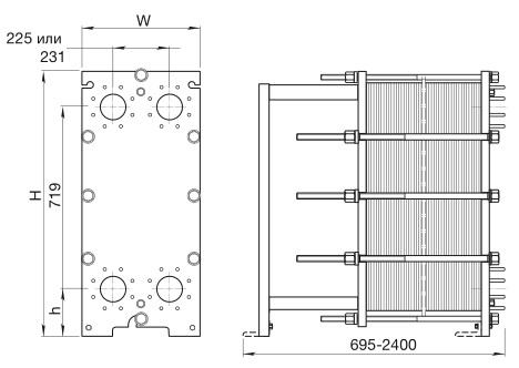 Уплотнения теплообменника КС 14,6 Кострома