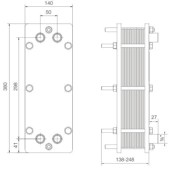 Пластинчатый теплообменник Alfa Laval TL35-BFG Набережные Челны Пластинчатые теплообменники Alfa Laval - серия М Калуга