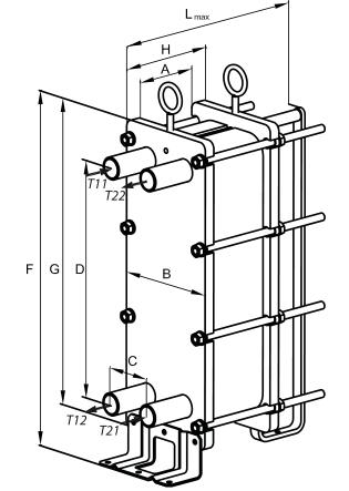 Теплообменник данфосс xg 20 Уплотнения теплообменника Теплохит ТИ 130 Электросталь