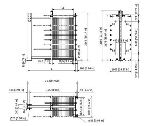 Пластинчатый теплообменник Sondex S81 Архангельск Пластинчатый теплообменник HISAKA RX-01 Биробиджан