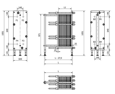 Пластины теплообменника Sondex S100 Архангельск Оборудование DANFOSS Сергиев Посад