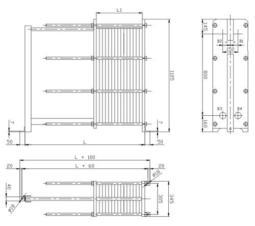 Пластинчатый теплообменник Sondex S210 Архангельск Пластины теплообменника Alfa Laval TL10-BFM Ейск