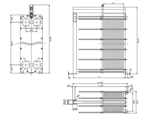 Пластины теплообменника Sondex S18 Архангельск Кожухотрубный испаритель Alfa Laval PCD328-2 Бийск