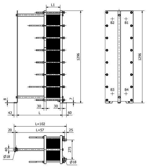 Пластинчатый теплообменник Sondex S41AE Архангельск Кожухотрубный испаритель ONDA SSE 36.201.2400 Хабаровск