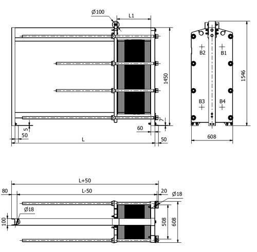 Пластины теплообменника Sondex S86 Архангельск Пластинчатый теплообменник Alfa Laval T20-PFS Новый Уренгой