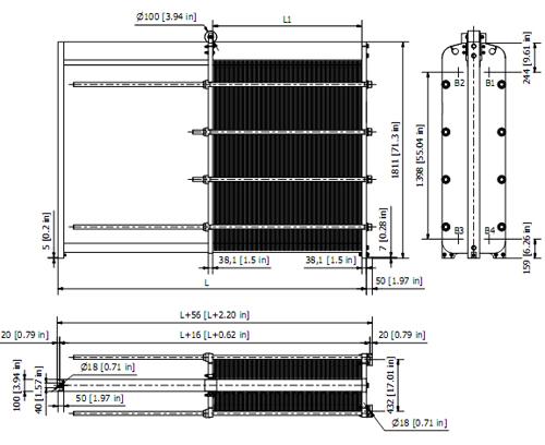 Пластинчатый теплообменник Sondex S120 Архангельск Кожухотрубный теплообменник Alfa Laval Aalborg MX 15 Шадринск