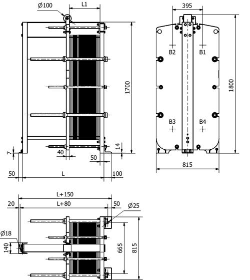 Пластинчатый теплообменник Sondex S20A Архангельск Пластины теплообменника Машимпэкс (GEA) NH350L Артём