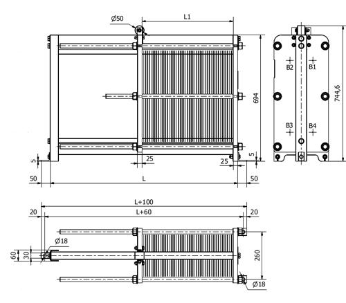 Уплотнения теплообменника Sondex S4 Бузулук Кожухотрубный теплообменник Alfa Laval ViscoLine VLM 15x25/129-6 Абакан