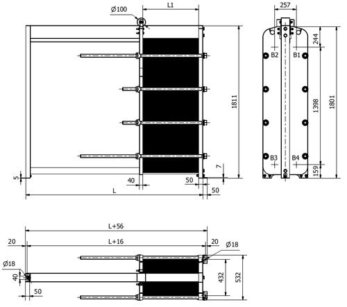 Пластинчатый теплообменник Sondex S7A Ижевск теплообменники и колонны аппараты