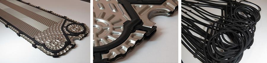 Пластины и уплотнения SONDEX Кемерово Кожухотрубный испаритель Alfa Laval DH1-161 Кемерово