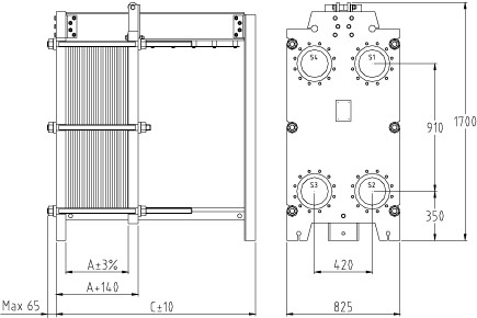 Уплотнения теплообменника Alfa Laval AQ2L-FD Азов