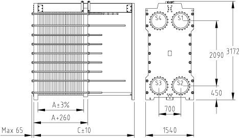 Пластинчатый разборный теплообменник SWEP GL-230P Архангельск Уплотнения теплообменника КС 73 Дзержинск