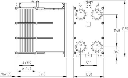 Пластинчатый разборный теплообменник SWEP GL-230N Архангельск Паяный теплообменник Машимпэкс (GEA) GBS 800 Сыктывкар