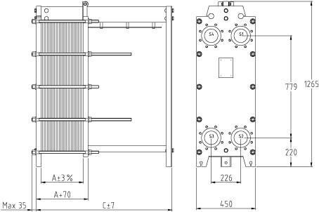 Уплотнения теплообменника SWEP (Росвеп) GC-26S Гатчина Пластинчатый теплообменник Машимпэкс (GEA) NT 350S Кисловодск