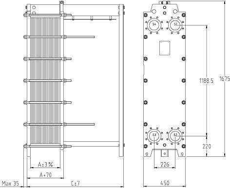 Пластины теплообменника SWEP (Росвеп) GX-26N Камышин Пластины теплообменника Alfa Laval M6-MFG Находка