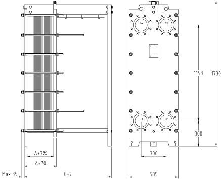 Уплотнения теплообменника SWEP (Росвеп) GC-60P Архангельск Пластины теплообменника Tranter GC-009 P Тамбов