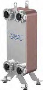 Паяный пластинчатый теплообменник SWEP B400 Калининград Кожухотрубный испаритель ONDA HPE 52 Рубцовск