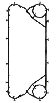 Уплотнения теплообменника Машимпэкс (GEA) NT 500T Набережные Челны Пластинчатый теплообменник Thermowave EL-500 Петрозаводск