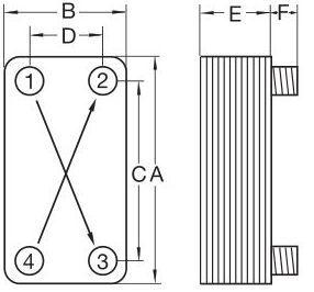 Кожухотрубный конденсатор ONDA C 27.303.2000 Юрга