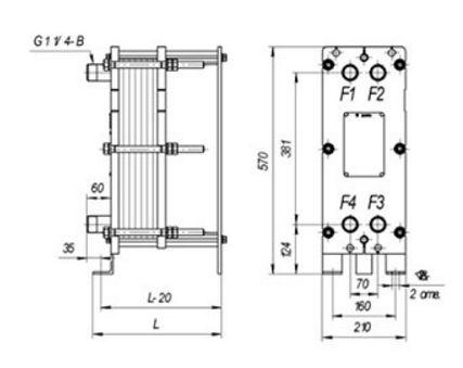 Пластины теплообменника SWEP (Росвеп) GL-265N Саранск Водоводяной подогреватель ВВП 22-530-4000 Кемерово