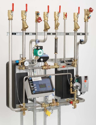Подбор систем автоматизированного теплового пункта Новый Уренгой Паяный теплообменник Funke GPLK 60 Зеленодольск