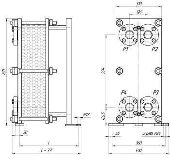 Пластинчатый теплообменник Tranter GL-013 N Сургут Пластины теплообменника Funke FP 08 Балашов