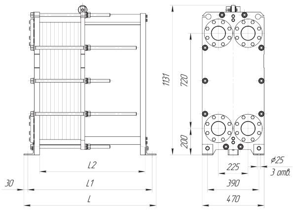 Уплотнения теплообменника Ридан НН 121 Одинцово закрытые системы отопления с теплообменником