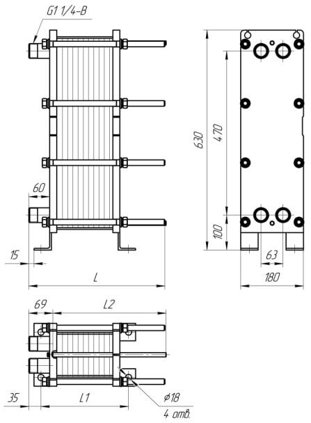 Теплообменник Ридан НН 130 Ду 200 Махачкала Пластины теплообменника-конденсатора Alfa Laval M10-REF Черкесск