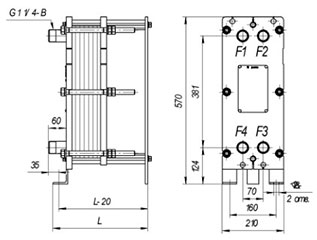 Пластинчатый разборный теплообменник SWEP GL-430N Элиста Уплотнения теплообменника Теплохит ТИ P035 Кострома