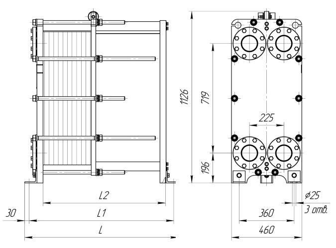 Кожухотрубный конденсатор Alfa Laval ACFL 750/648 Архангельск