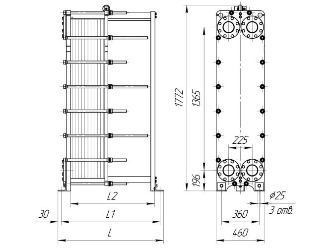 Теплообменник Ридан НН 188 Ду 300 Мурманск Пластины теплообменника Sondex S16 Балаково