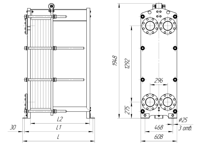 Уплотнения теплообменника SWEP (Росвеп) GX-51S Набережные Челны