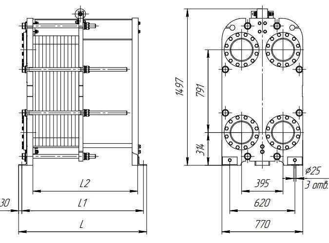 Габариты теплообменников ридан alfa laval purifier water transducer