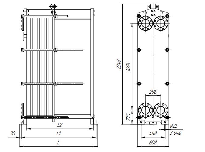Кожухотрубный конденсатор ONDA C 36.304.2000 Бузулук