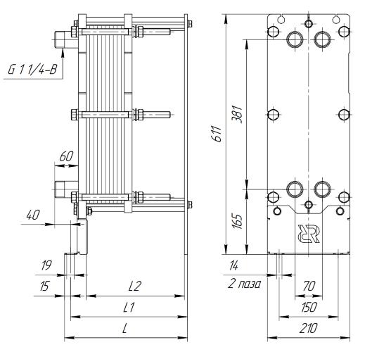 Теплообменник Ридан НН 22 Ду100 Липецк Уплотнения теплообменника Sondex SF123 Балашиха