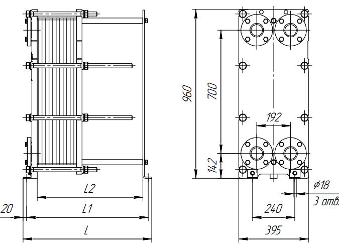 Пластинчатый теплообменник Alfa Laval TL6-BFG Соликамск
