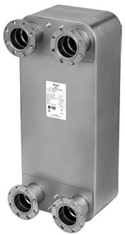 Паяный пластинчатый теплообменник Ридан XB66H Бузулук Установка для промывки теплообменников RIDGID DP-13 Электросталь