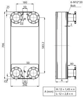 Паяный пластинчатый теплообменник SWEP F250AS Чита Кожухотрубный конденсатор Alfa Laval CXPM 142-S 2P CE Шахты